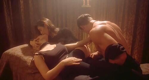 Girl embrace of the vampire sex scene