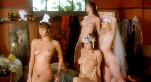 Posing naked in front of the participants of the gay march 8