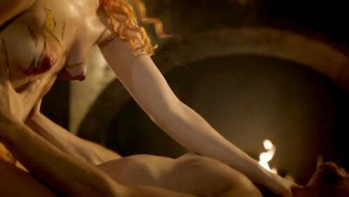 laura haddock naked