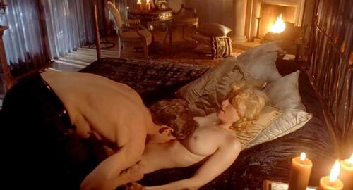 JOHN: Body of evidence nude scene