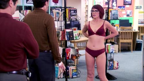 megan mullally topless