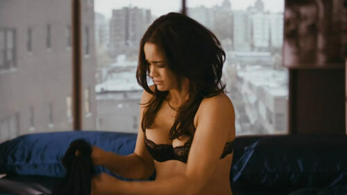 Paula patton topless nude, brittany burke clip