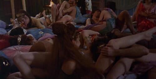 orgie scen från Caligula Porr Film av svarta