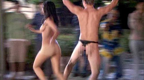 The naked mile run, dolphin fucking woman