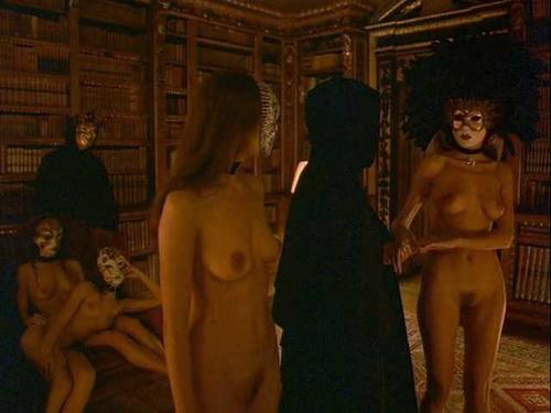 Those on! wide eyed nude girl was