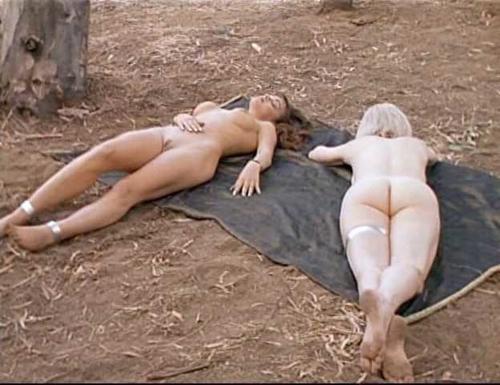 Courtney cox loses bikini top