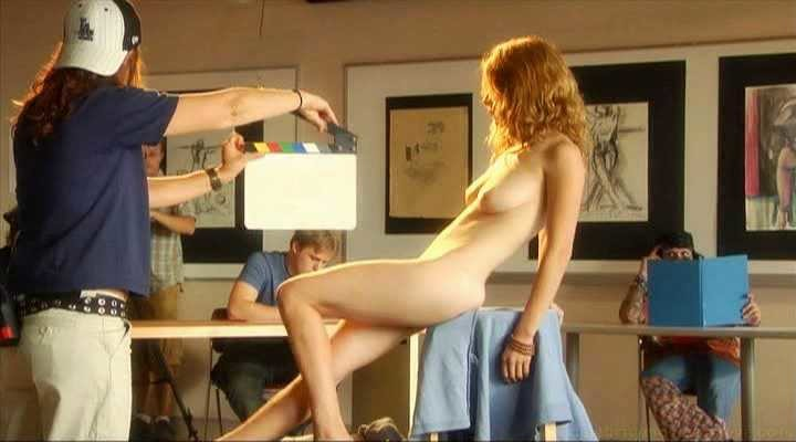 For posing nude for art classes