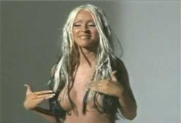 christina aguilera nude diary