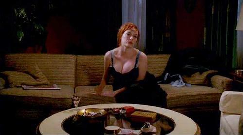 Christina hendricks sex scene