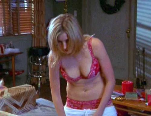 Sarah chalke nipple
